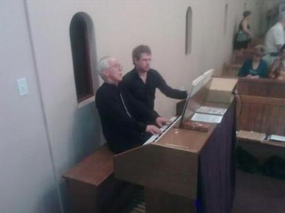 CONTENT ORGAN CHRISTMAS CONCERT WITH PROF EDDY DAVEY AND RIAAN VORSTER