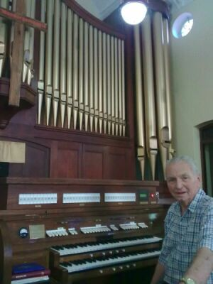 NG Brakpan Church Pipeorgan extended with Content Digital 31 stops with 12 Historical tunings.