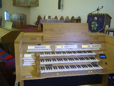 NEXT CONTENT ORGAN INSTALLATION
