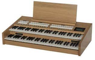 NEW CONTENT 2 MANUAL PORTABLE ORGAN WITH 4x24 DIFFERENT ORGAN STOPS AND BUILD IN COMPUTER FOR PERSONAL SETTINGS ETC. Weight 22kg