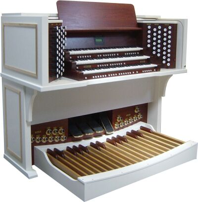 Content organ for wellknown concert organist in Netherland